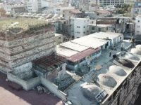 Eminönü'ndeki tarihi yapıyı böyle tahrip ettiler