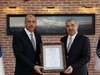 Erciyes, uluslararası kalitenin simgesiIQ Net Belgesi aldı