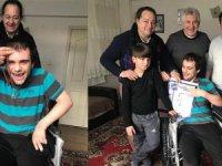 Marmara Skal'dan İki engelliye 'mutluluk eli' uzandı