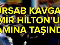 Türsab'daki kavgaİzmir Hilton'un damına taşındı