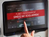 Türk Hava Yolları kabin içi eğlenceyi iç hatlara taşıdı
