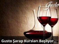 Gusto Şarap Kurslarıbaşlıyor
