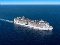 MSC Cruises'ın MSC Grandiosa gemisi suya indirildi