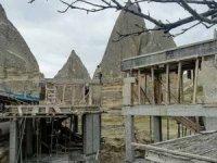 Peribacaları'na skandal otel inşaatına kim izin verdi?
