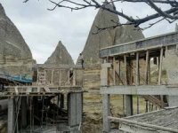Bakanlık, Kapadokya'daki otelin inşaatı durdurdu