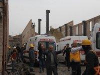 Adana'da müze inşaatında duvar çöktü: Bir ölü 6 yaralı