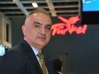 Bakan Ersoy: Dünya turizminde ilk 6'ya girmeyi hedefliyoruz
