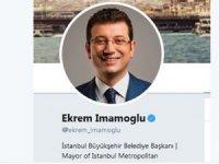 """İmamoğlu Twitter'da bio'sunu yeniledi:""""İBB Başkanı"""" yazdı"""