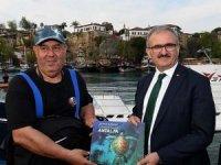 Su Altı Cenneti Antalya tanıtım filmine ödül