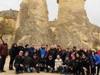 Altın Kanat Motosiklet Kulübü,Kapadokya'yı gezdi