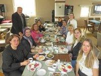 Karadenizli hanımlar Suada Otel'de kahvaltıda buluştu