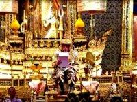 Tayland kralının taç giyme töreni üç gün sürüyor