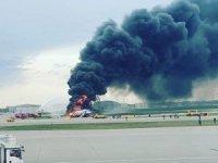 Aeroflot uçağı Havalimanı'na iniştealev aldı: 41 ölü