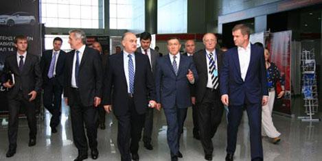 Sergilendiği uluslararası otomobil fuarı moskova da başladı