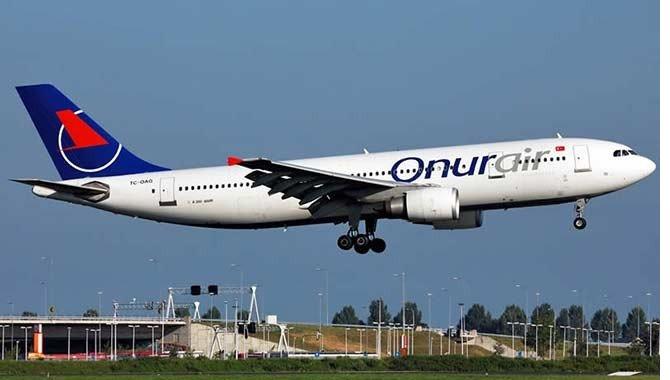 Onur Air uçağı, Volgograda acil iniş yaptı 62
