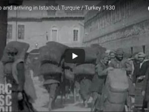 Going to and arriving in Istanbul, Turquie / Turkey 1930