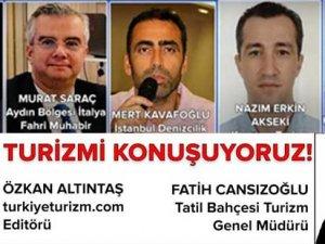 Özkan Altintaş, Fatih Cansızoğlu Kruvaziyer Turizmini konuşuyor