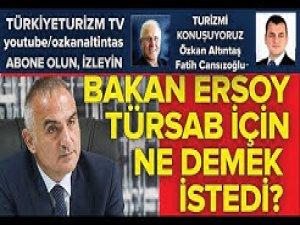 Özkan Altıntaş - Fatih Cansızoğlu Türsab'ı konuşuyor 10 Ekim 2020